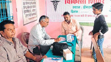 Indore: Free health camp organised