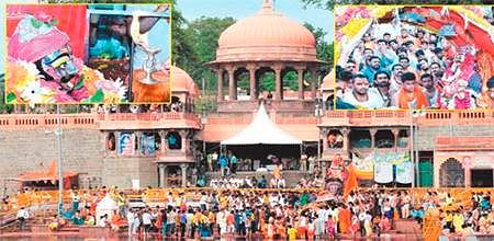 Ujjain: 'Chandramauleshwar' sawari passes by city, devotees demand more than a glimpse