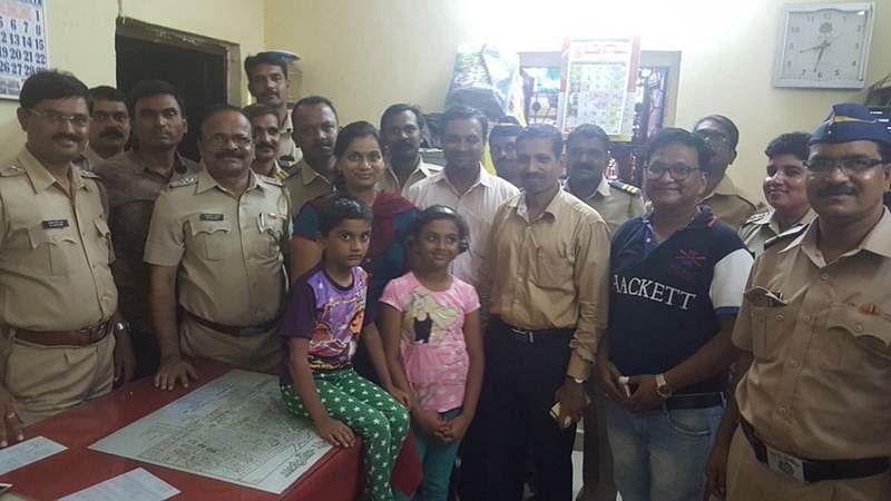 Mumbai: Six-year-old reunited with family by Matunga police