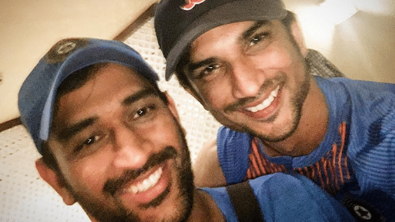Watch Sushant Singh Rajput's perfect imitation of MS Dhoni's iconic 2011 World Cup winning moment