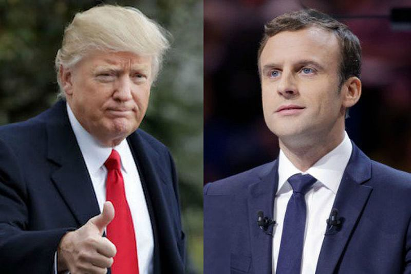 Trump, Macron discuss global issues: White House