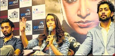 Bhopal: Shraddha Kapoor visits city to promote 'Haseena Parker'