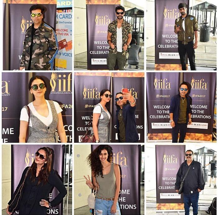 IIFA Awards 2017: Saif Ali Khan, Shahid Kapoor, Karan Johar descend for IIFA in New York