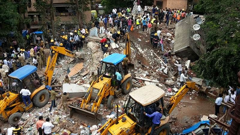 Mumbai: Eleven, including 3-month-old baby, killed in Ghatkopar building collapse