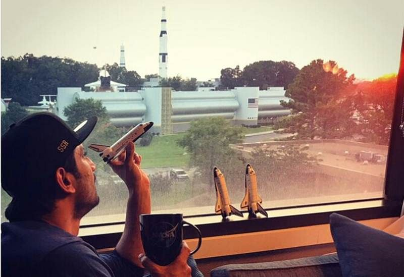 Sushant Singh Rajput aiming for the moon