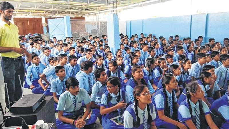 Indore: Wildlife quiz at Angel Heart Academy
