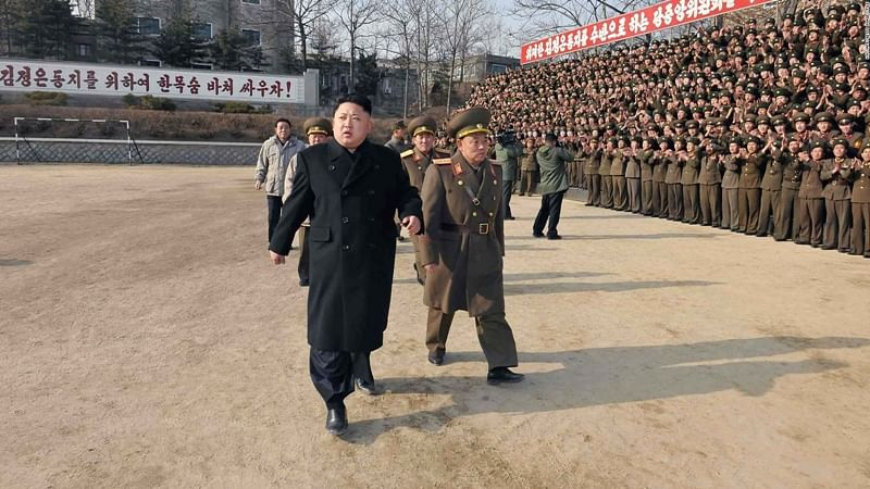 North Korea threatens US with nuclear strike if leader harmed