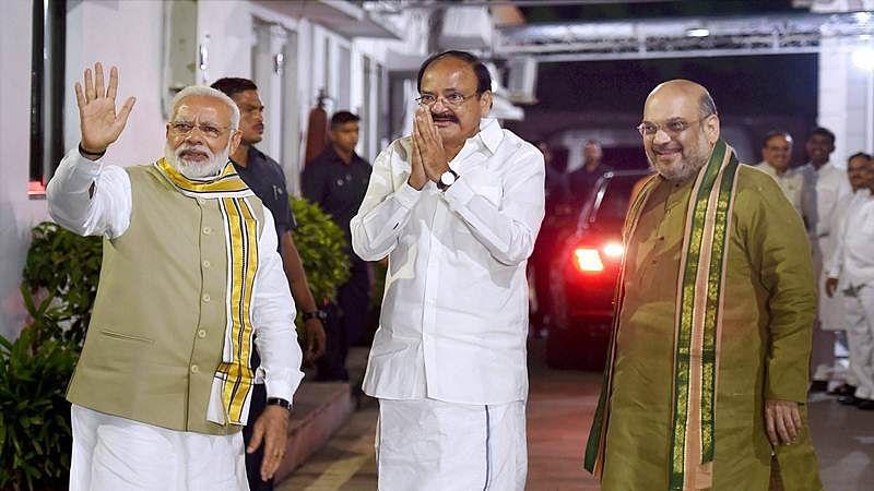 President Kovind, PM Modi, Amit Shah, others greet VP Venkaiah Naidu on his 71st birthday