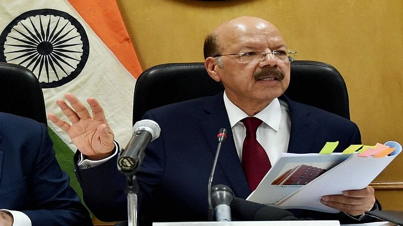 New tamper-detect EVMs to be used in 2019 Lok Sabha elections: CEC Nasim Zaidi