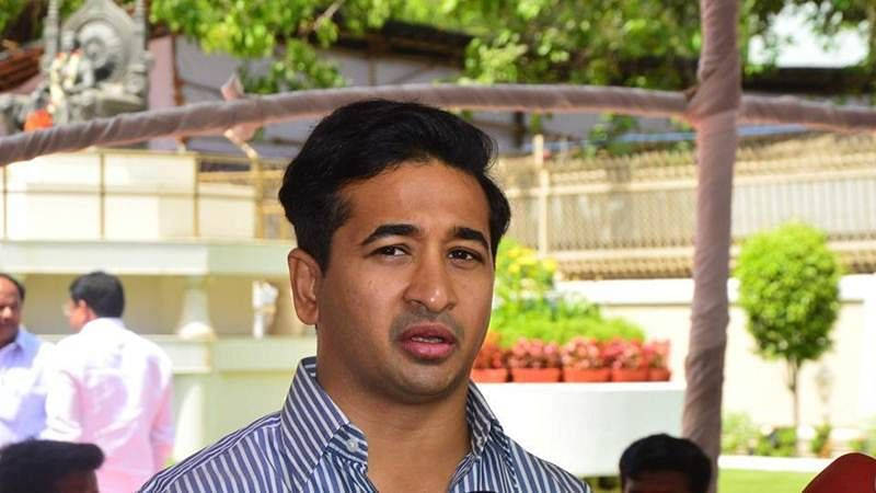 Nitesh to skip Narayan Rane's press conference in Sindhudurg district