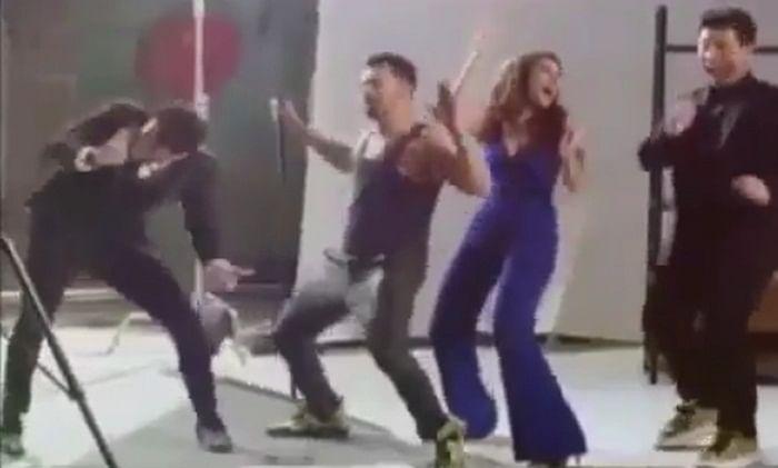 Watch: Katrina Kaif, Karan Johar, Varun Dhawan backstage fun posted by Parineeti Chopra