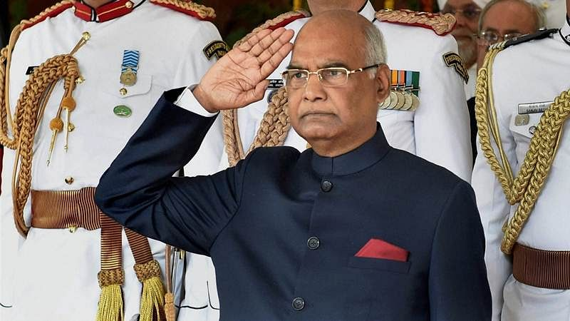 President Ram Nath Kovind should not be seen as Dalit face now, advices Centre