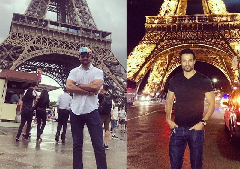In Pictures: Actor Rohit Roy's Paris travel diaries
