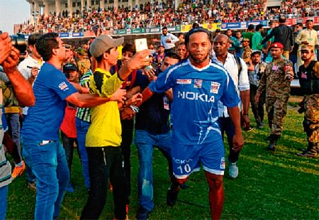 Thought Pakistan was all about cricket: Ronaldinho