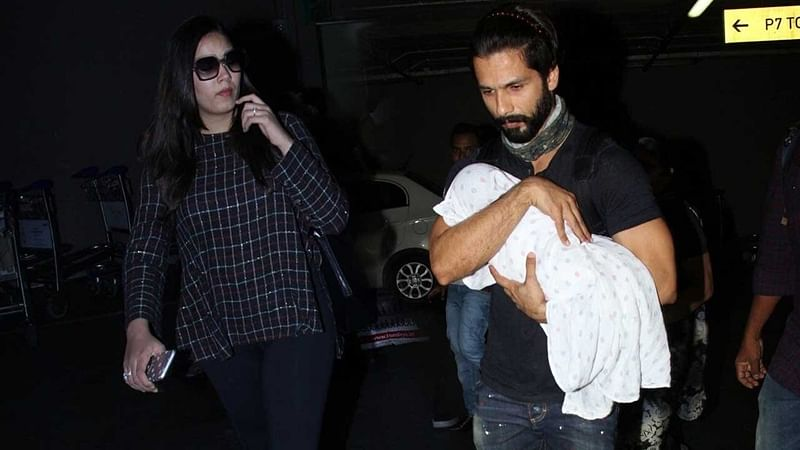 IIFA 2017: Shahid Kapoor, Mira Rajput and baby Misha fly off to NYC