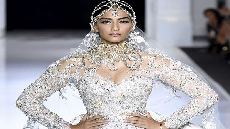 Paris Fashion Week: Showstopper Sonam Kapoor sets the stage on fire in bridal white