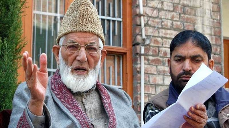 NIA quizzes Syed Ali Shah Geelani's sons over terror funding