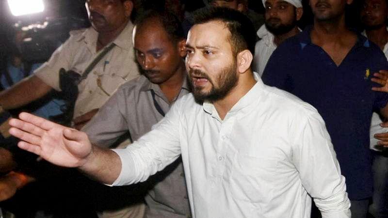 Nitish-BJP insulted Bihar's mandate meant for grand alliance: Tejashwi Yadav