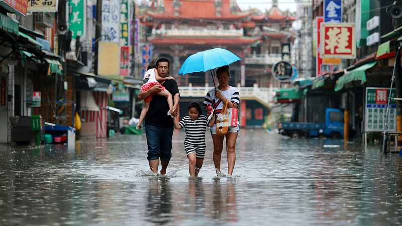 Taiwan braces for first typhoon of the year