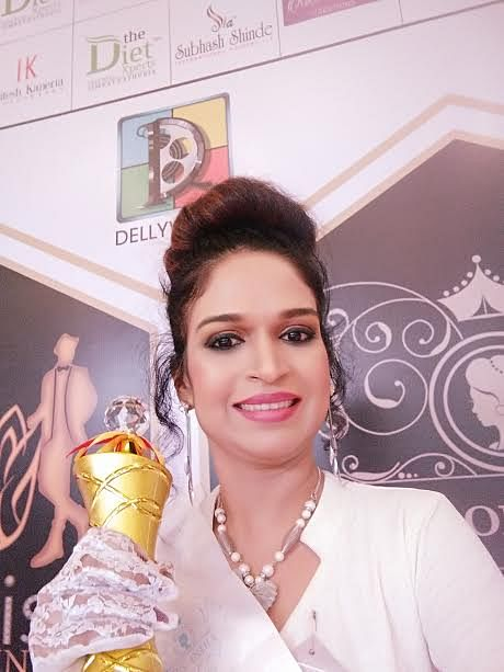 Mumbai beauty bags 'Mrs Most Beautiful Body' title at a contest