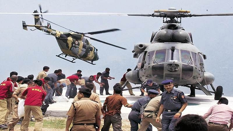 410 stranded passengers airlifted in Jammu and Kashmir
