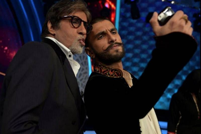 After Sonam kapoor, Amitabh Bachchan is miffed with Ranveer Singh