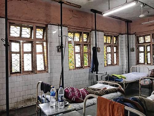 City hosp's poor infrastructure may spread diseases