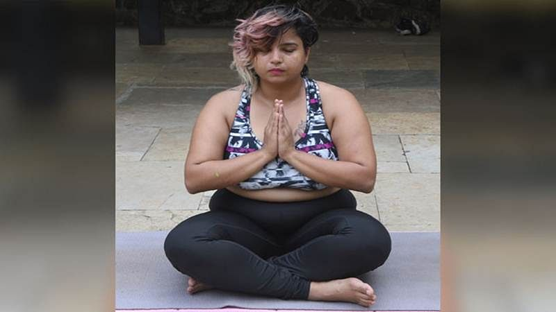 The big too can bend it beautifully, says Internet yoga queen from Mumbai