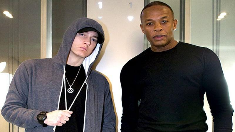 Eminem teaming up with Dr. Dre