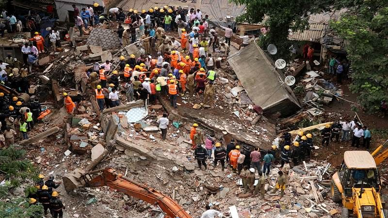 Mumbai: Five bodies found in Ghatkopar building collapse, toll touches 17