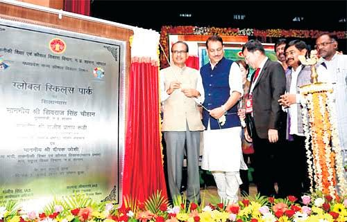 Bhopal: Foundation stone for Rs 645-cr Global Skills Park laid