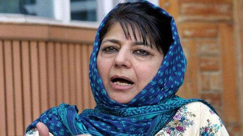 Mehbooba Mufti thanks Rajnath Singh, people for their support during Kashmir crisis