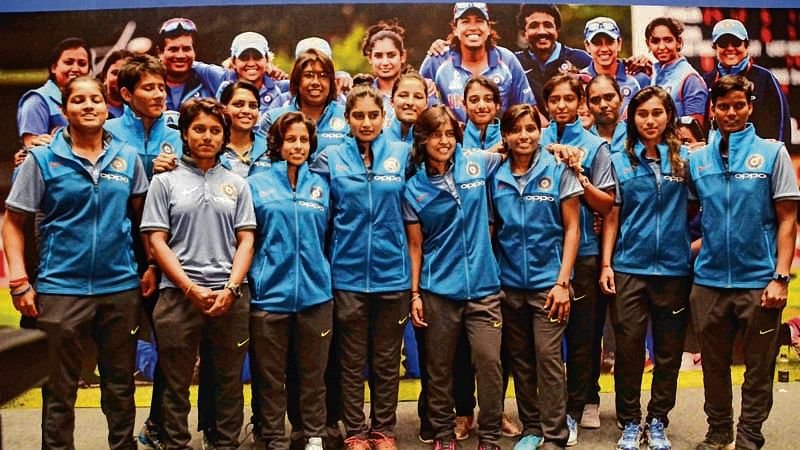 Mumbai : Woman Cricket team arrival take a press conference in Mumbai after world cup at  JW Marriott Mumbai. Photo . BL SONI