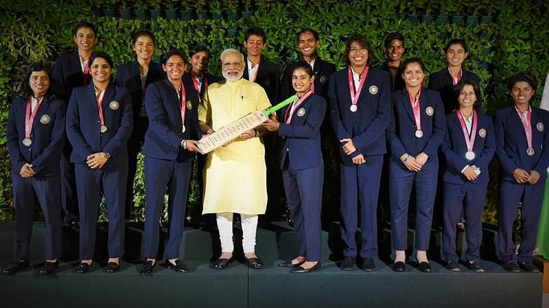 Pictures: PM Modi meets women's cricket team, lauds them for their brilliant World Cup campaign