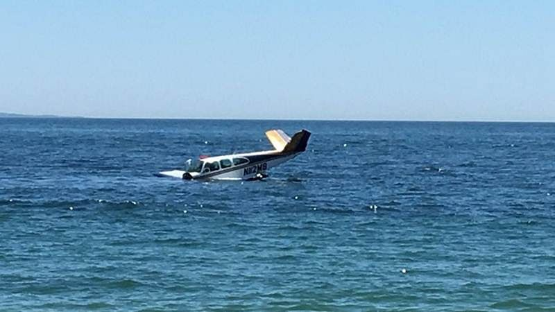 Plane crashes off Venezuelan island with 9 people aboard