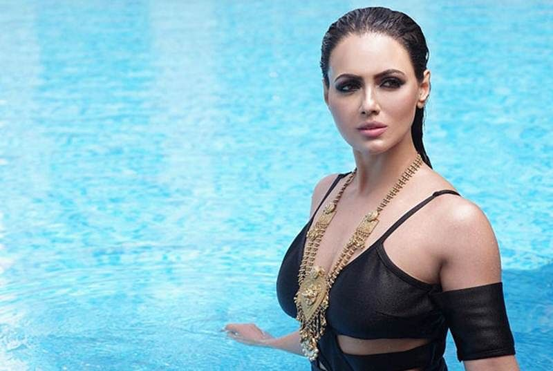HOT! Sana Khan sets water afire with this Sexy photograph