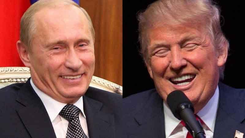 Russia didn't meddle in US election, Putin tells Trump