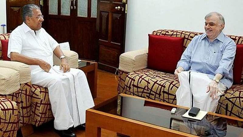 Kerala CM Pinarayi Vijayan meets BJP, RSS leaders