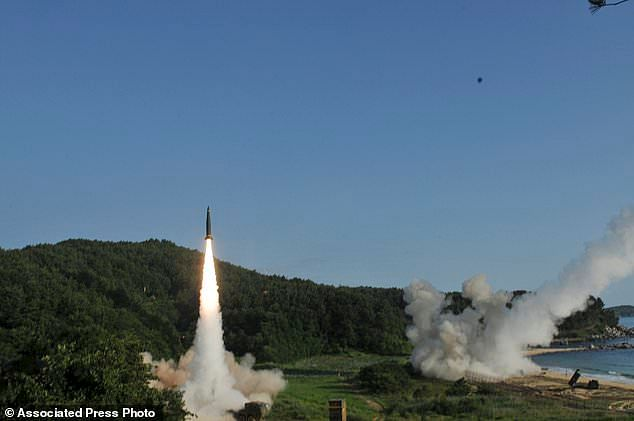Missile launch warning to South Korean warmongers