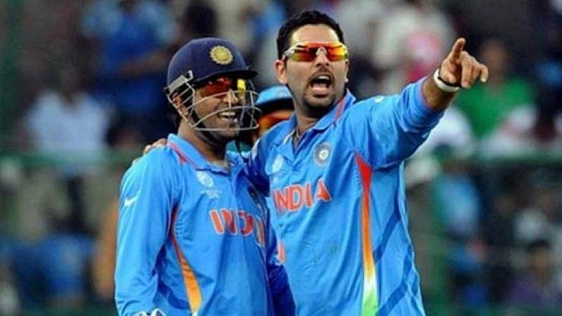 MS Dhoni gets a special message on his 36th birthday from Yuvraj Singh