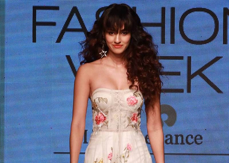 In pics: Disha Patani walk the ramp for designer Ritu Kumar at Lakme Fashion Week 2017