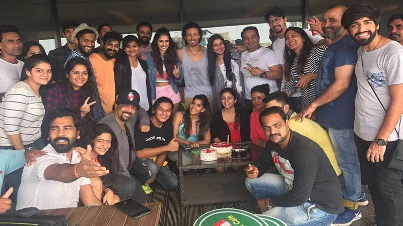 Picture: Tiger Shroff, Disha Patani begin preparation for Baaghi 2