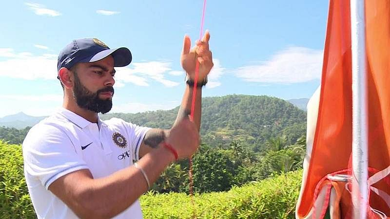 Independence Day 2017: Virat Kohli and Co. unfurled the tricolour at Kandy