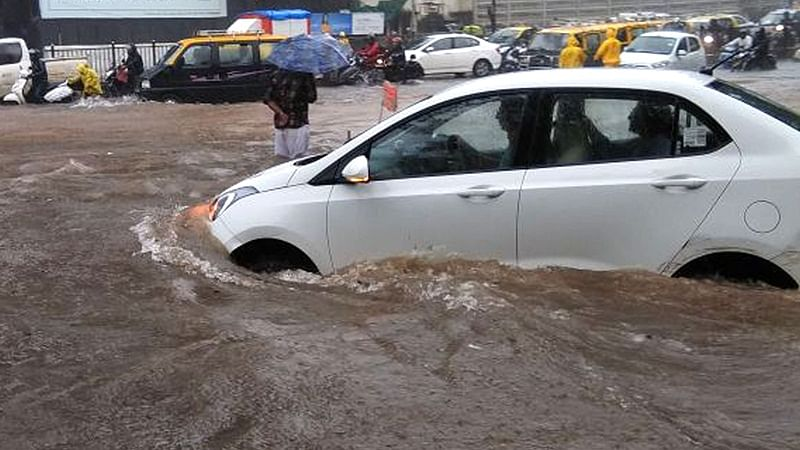 Mumbai: Heavy rains continue to pound city and suburbs, water-logging in several areas