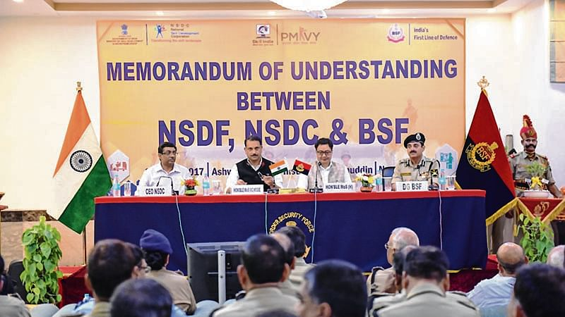 BSF personnel and families to be skilled to boost job potential