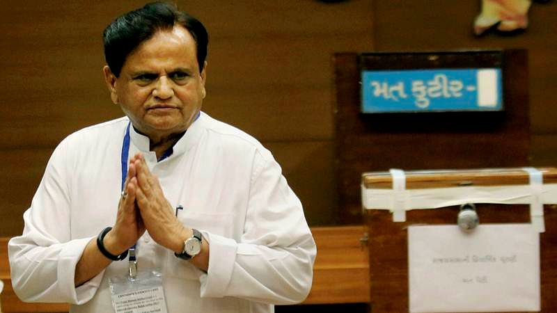 Narendra Modi's words, body language show fear for grand alliance: Ahmed Patel
