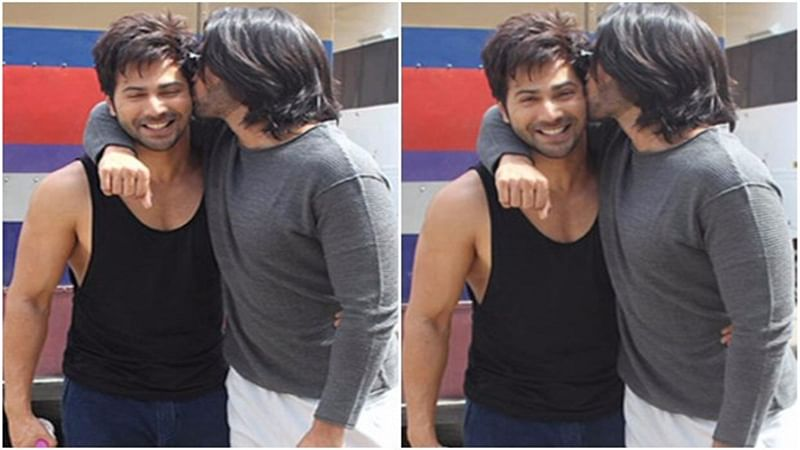 DOSTANA 2! Ranveer Singh showers love on Varun Dhawan with a kiss