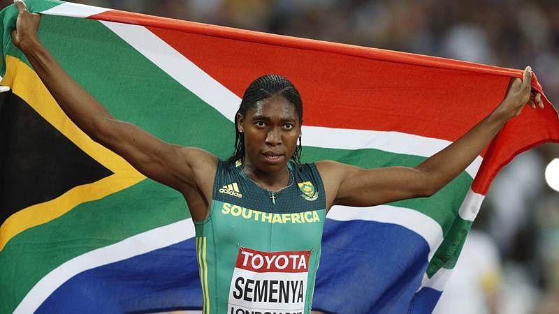 IAAF World Championships: Caster Semenya wins women's 800m gold