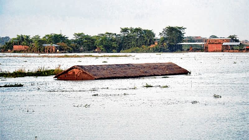 Homes, shops go underwater in Gadchiroli