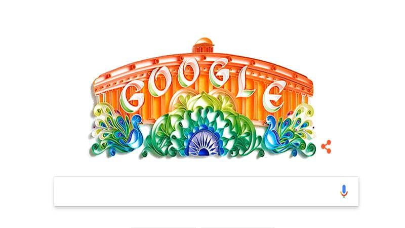 Google celebrates India's 70 years of Independence Day with an artistic doodle